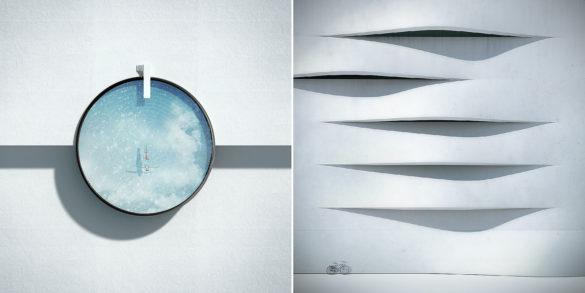 Αρχιτεκτονικές φωτογραφίες έργα τέχνης από τον Michele Durazzi