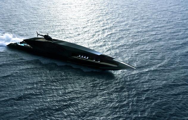 Black Swan Superyacht by Timur Bozca
