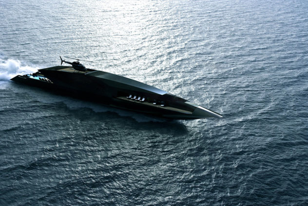 Black Swan Superyacht by Timur Bozca