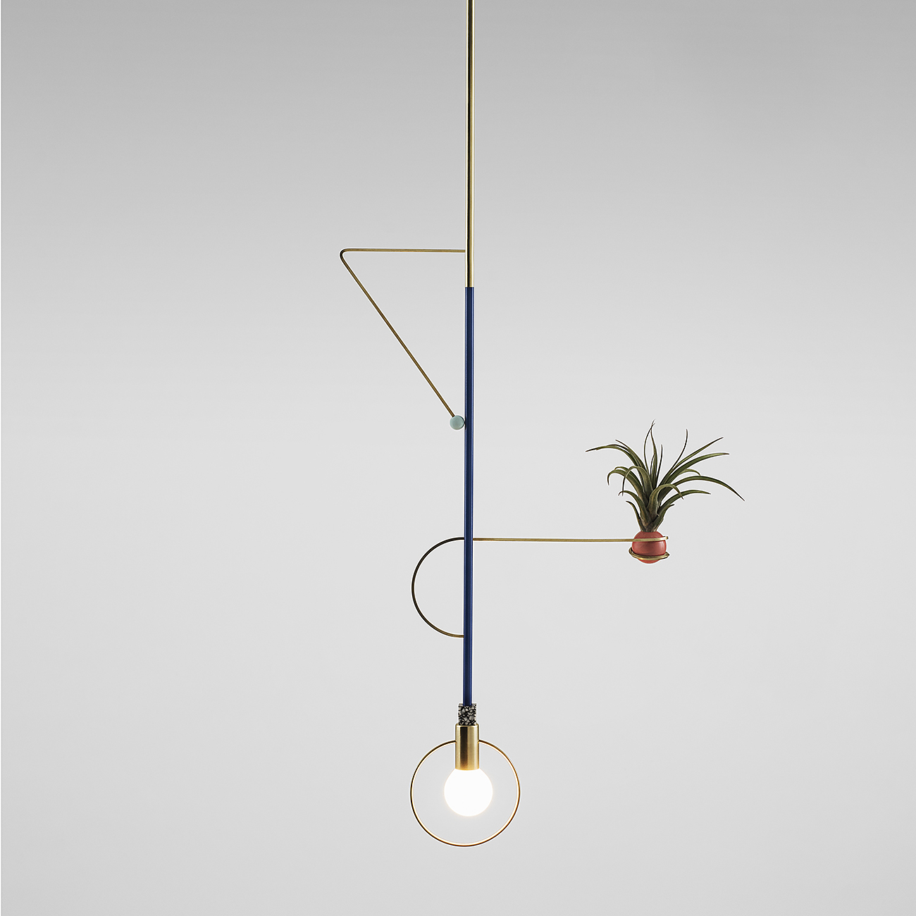 Calder Inspired Artistic Lamps by Jean-Pascal Gauthier.