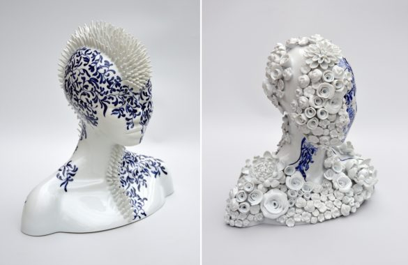 Τα σουρεαλιστικά κεραμικά γλυπτά της Juliette Clovis