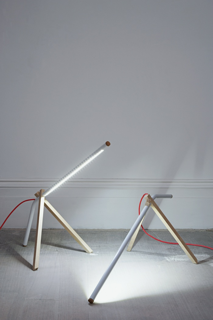 Tubular Furniture and Lighting by Tomás Alonso.