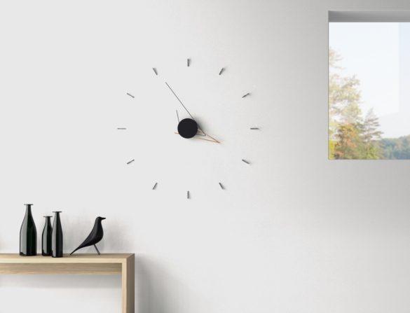 Silo Clock an art piece that tells time