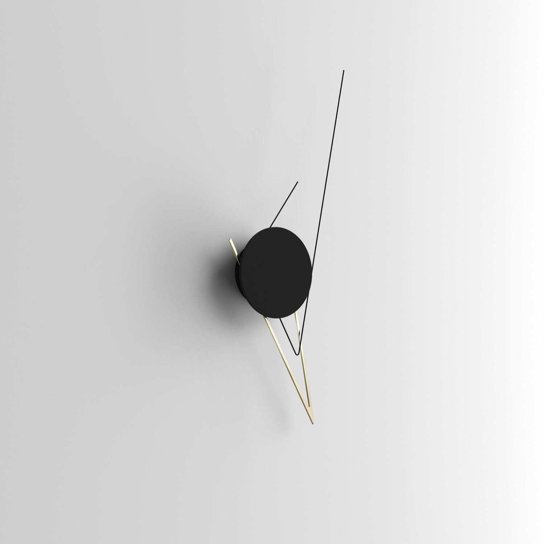 Silo Clock an art piece that tells time.