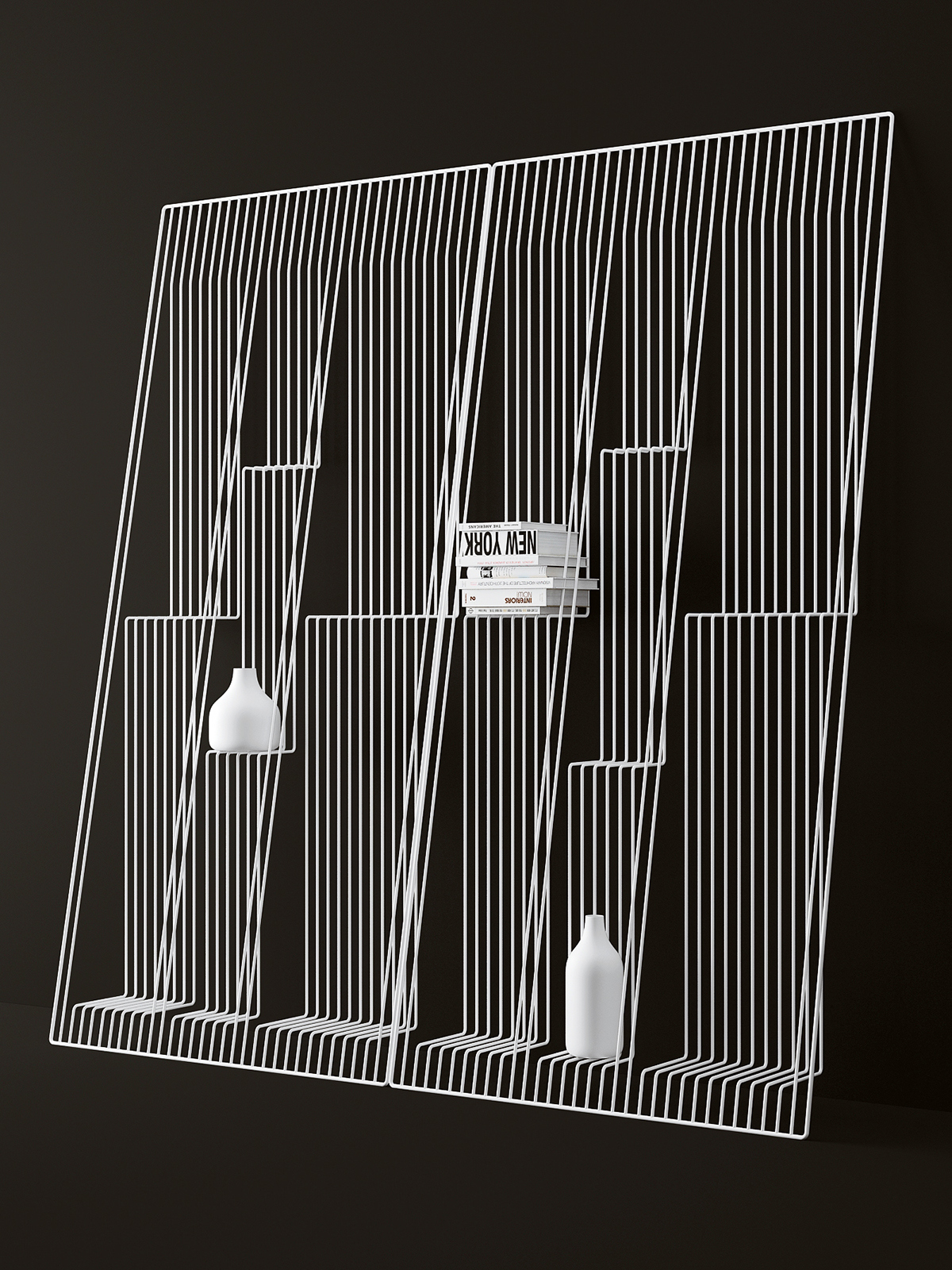 Field Shelving Unit by Dmitry Kozinenko.