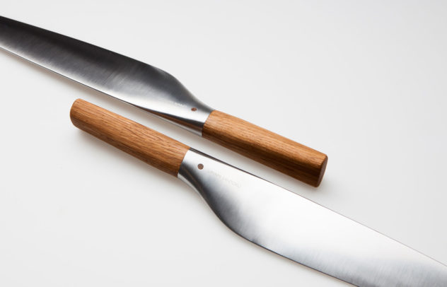 Per Finne Umami Santoku knife combines Norwegian and Japanese design