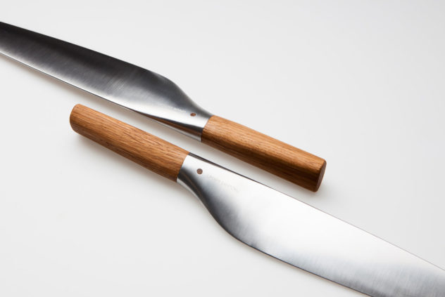 Per Finne Umami Santoku knife combines Norwegian and Japanese design