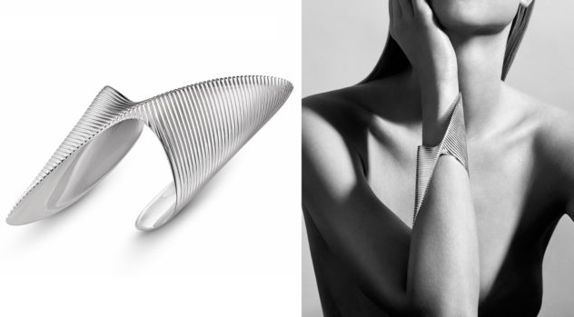 Lamellae Bangle by Zaha Hadid for Georg Jensen