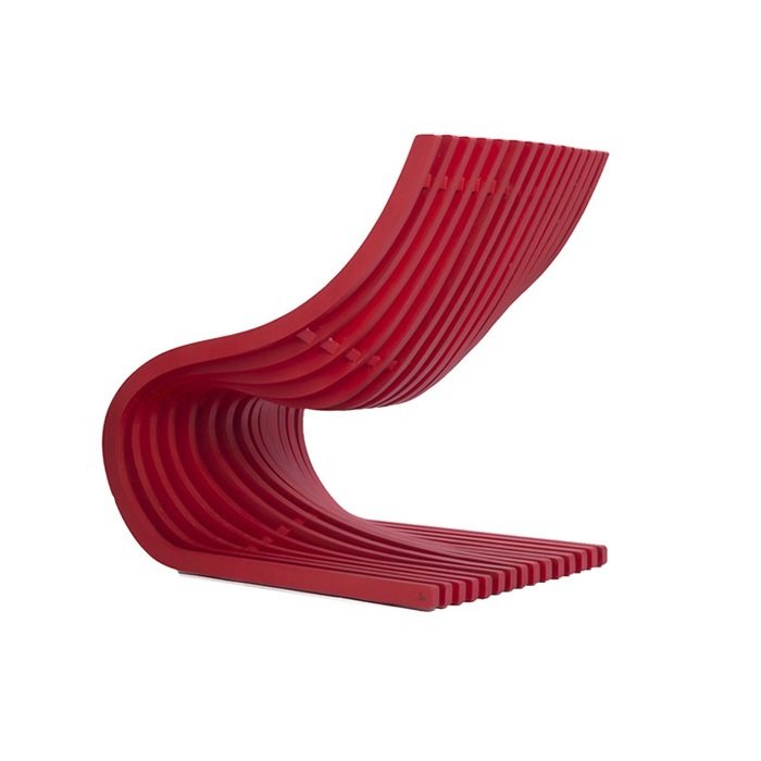 Piegatto Double Section Chair.