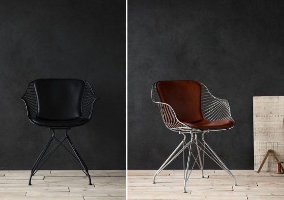 Wire Dining Chair by Overgaard & Dyrman