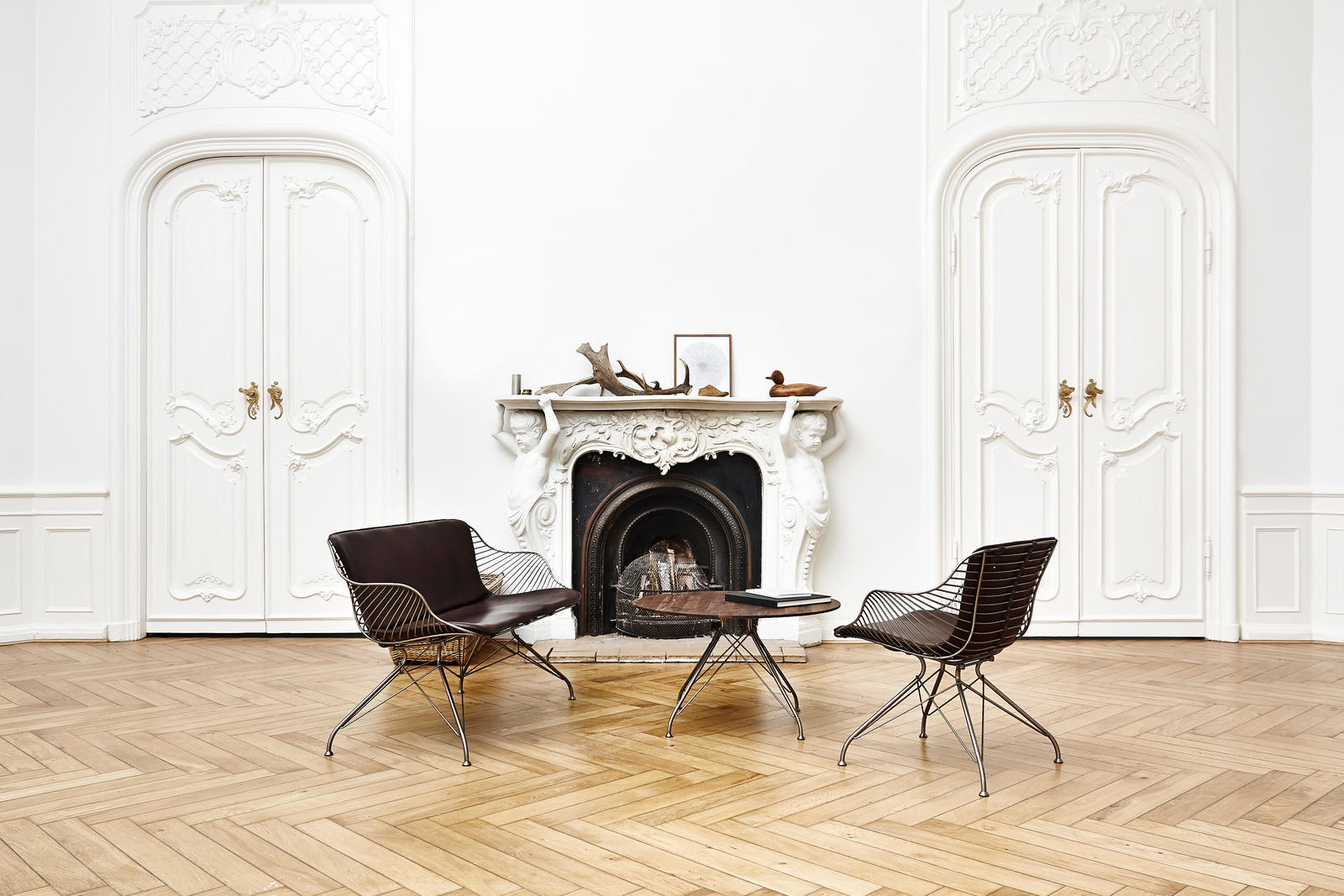 Wire Dining Chair by Overgaard & Dyrman.