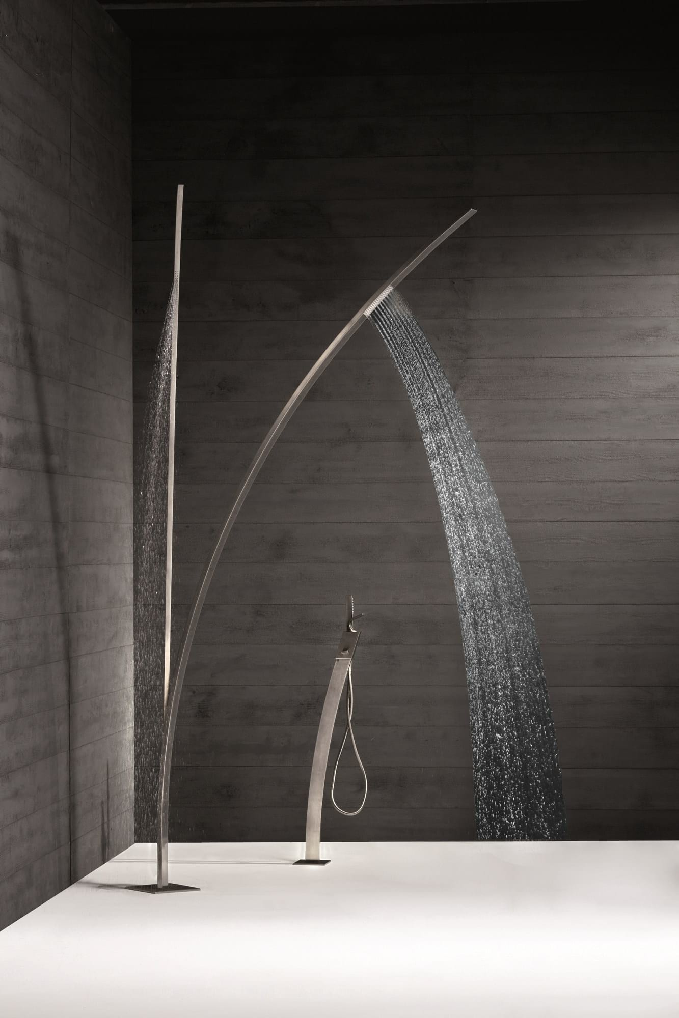 Newform Art. 463 Stainless Steel Outdoor Shower.