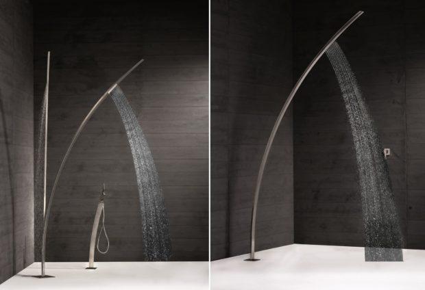 Newform Art. 463 Stainless Steel Outdoor Shower