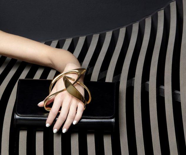 Perrin Paris x Zaha Hadid Clutch Bag Collection