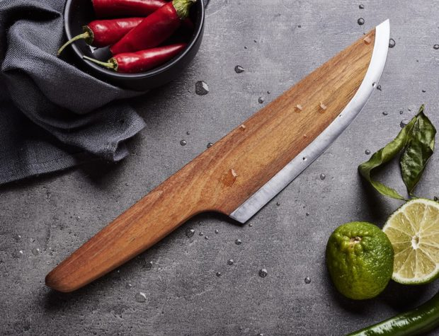 SKID Wooden Chef Knife