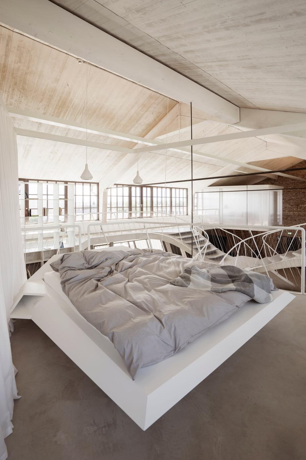 Loft Panzerhalle by Smartvoll Architekten.
