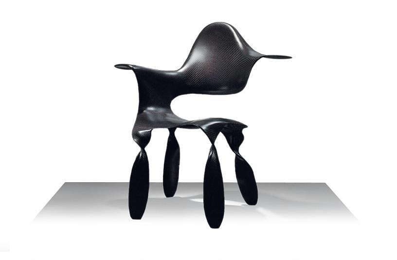 Κάθισμα από Carbon Fiber, Dipinta Di Blu της Adele-C.