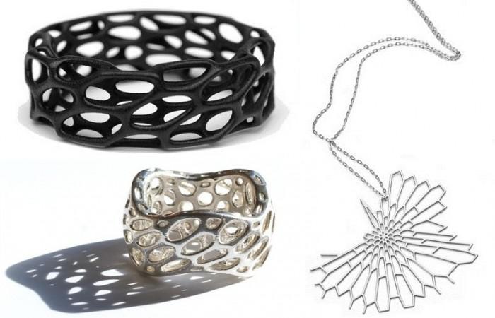 Radiolaria Jewelry by Nervous System