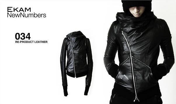 Ekam Leather Jackets by Kanya Miki