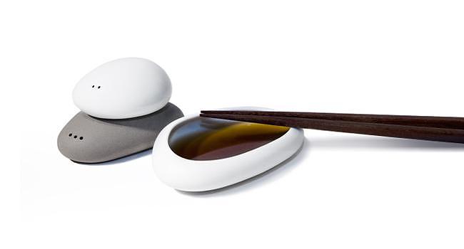 Αλατιέρα και πιπεριέρα από πορσελάνη, Balance.