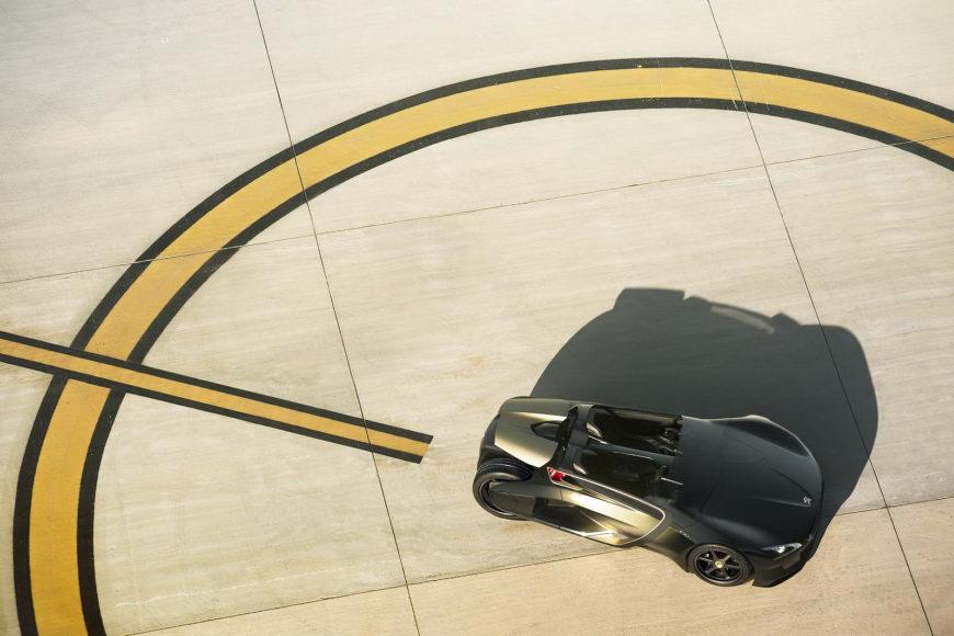 Ηλεκτρικό αγωνιστικό αυτοκίνητο Peugeot EX-1.