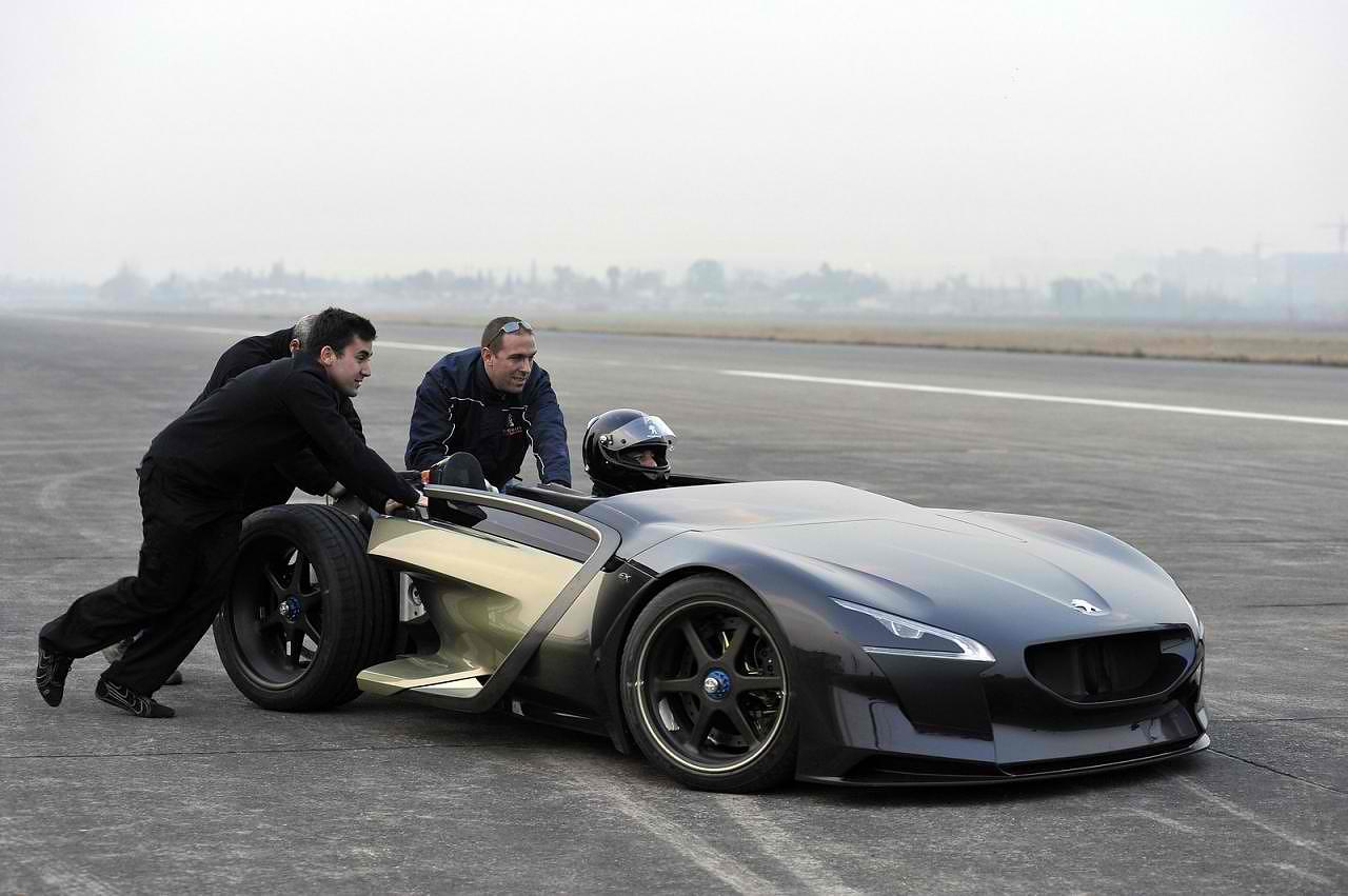 Peugeot Ex 1 Electric Racecar Design Is This