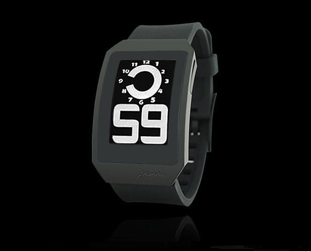 Ψηφιακά ρολόγια Phosphor με ηλεκτρονικό μελάνι.