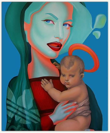 Σουρεαλιστικές ελαιογραφίες από τον Juan Barletta.