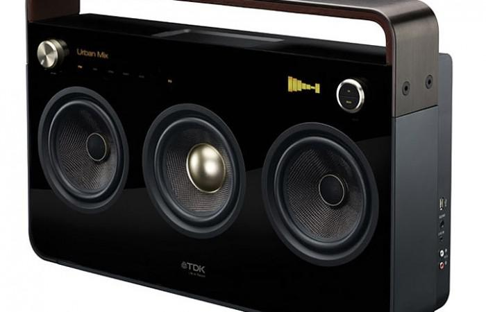 TDK  Boombox Portable Audio System