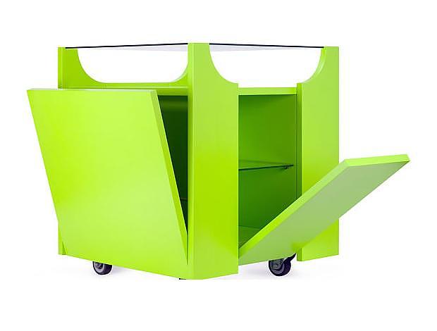 Τρόλεϊ Cubovo της Porro, σχεδιασμός Bruno Munari.