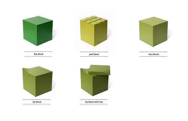 Colorful sitting Blocks by JSPR.