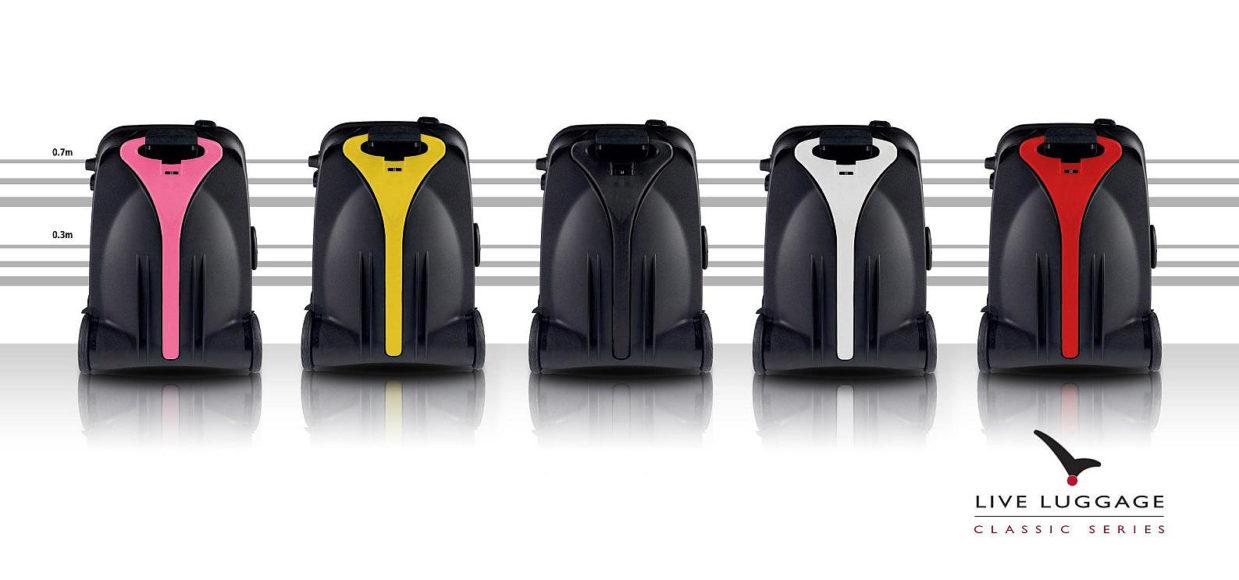 Ηλεκτροκίνητη βαλίτσα από την Live Luggage.