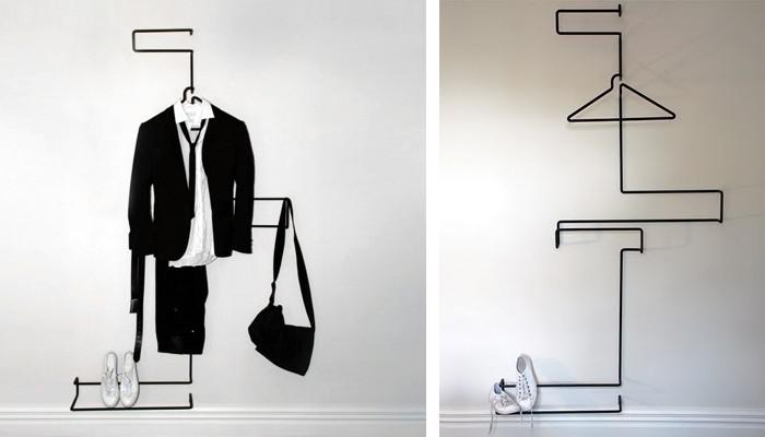 XYZ Suit Rack by Well Groomed Fox
