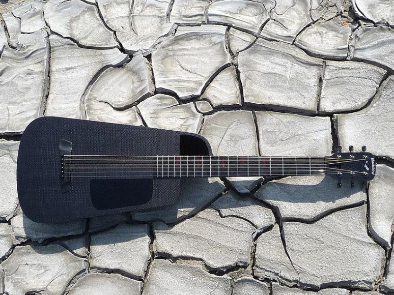 Ακουστική κιθάρα Blackbird Rider από Carbon Fiber.