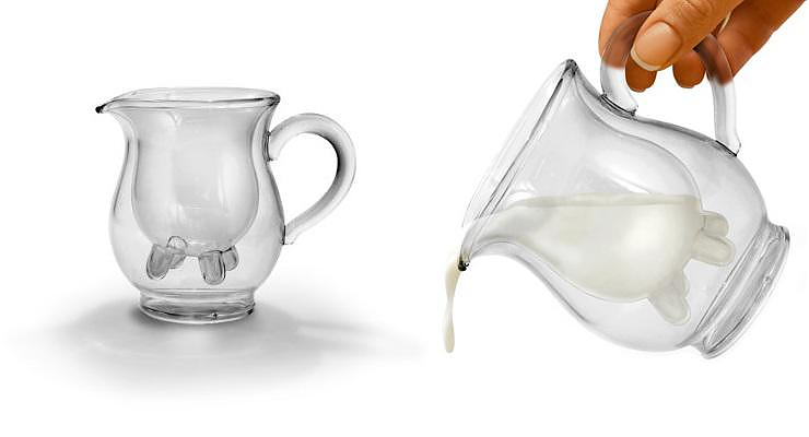 Calf and Half Creamer