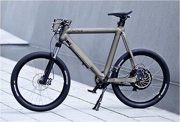 Ηλεκτρικό ποδήλατο Grace με τεχνολογία F1.