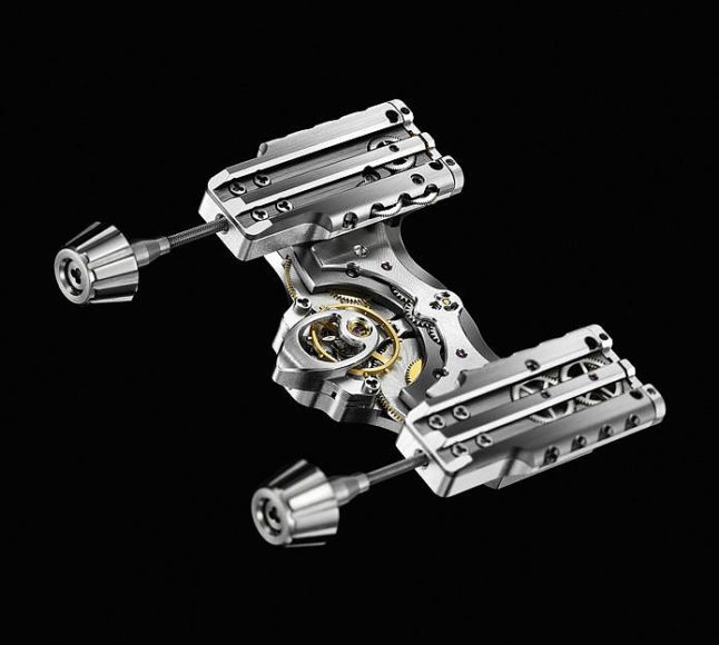 HM4 Thunderbolt Wrist Watch by MB&F.