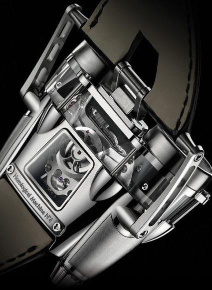 Ρολόι χειρός HM4 Thunderbolt από την MB&F.