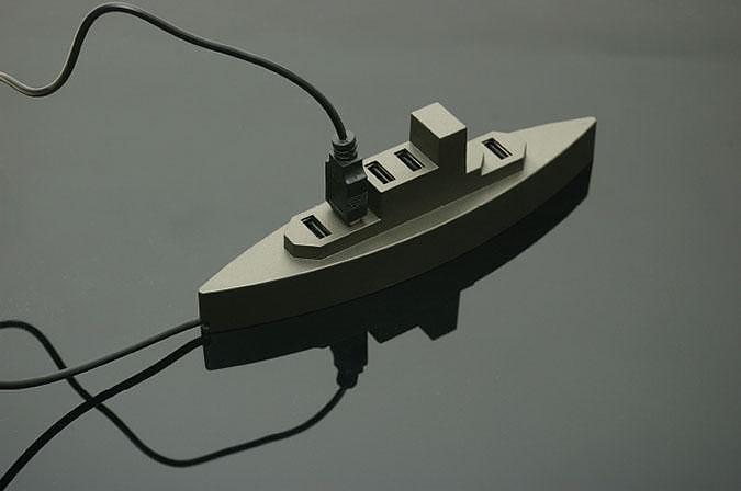 USB Boat, ένα usb hub με άποψη από την Kikkerland.