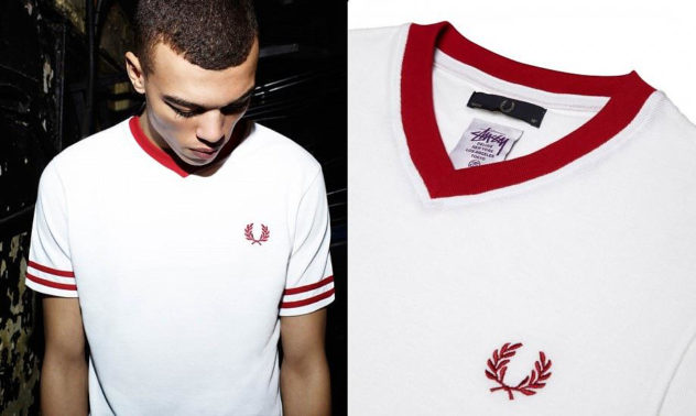 Fred Perry & Stussy