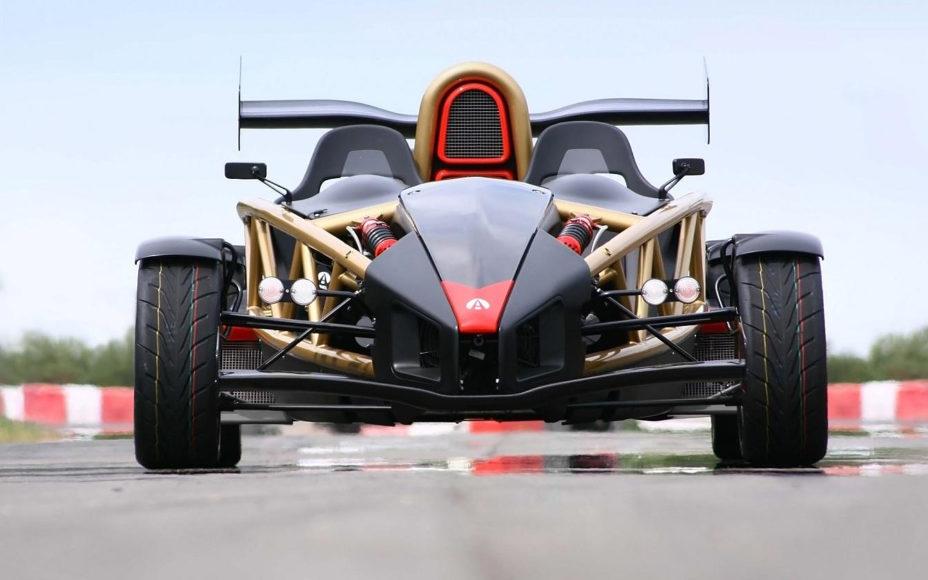 Ariel Atom V8 μια Φόρμουλα 1 για δημόσιο δρόμο.