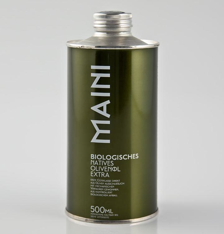 MAINI Οlive Oil, from Mani to Berlin.