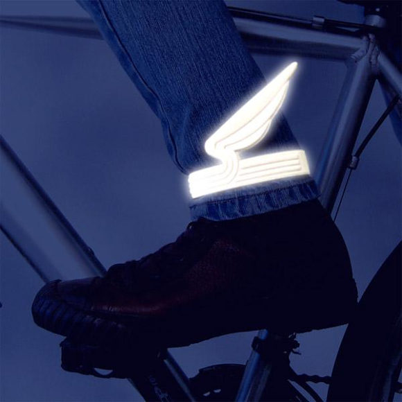 Eno Windrider Reflective Bicycle Pant Clips.