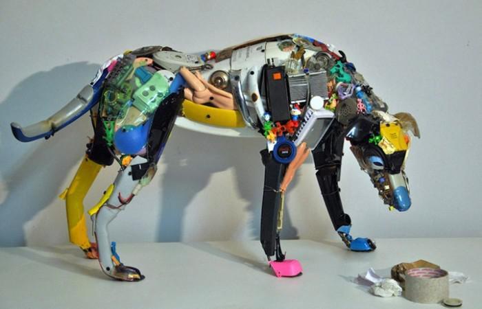 Dario Tironi and Koji Yoshida Junk Sculptures
