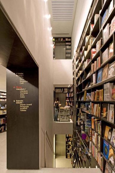 Livraria Da Vila, μια διαφορετική βιβλιοθήκη.