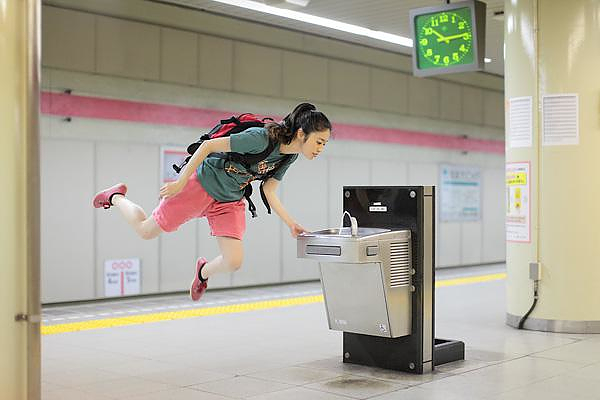 Natsumi Hayashi the Levitating Girl