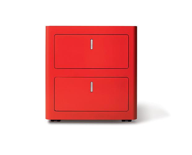Μεταλλική συρταριέρα cbox από την Dieffebi.