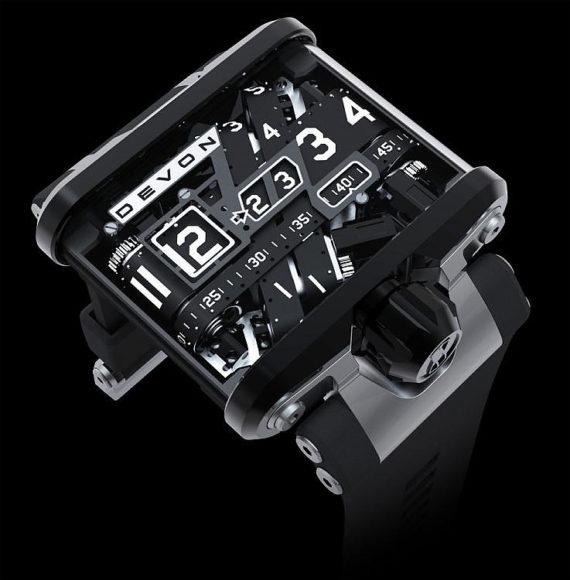 Ρολόι Tread 1 της Devon Works.