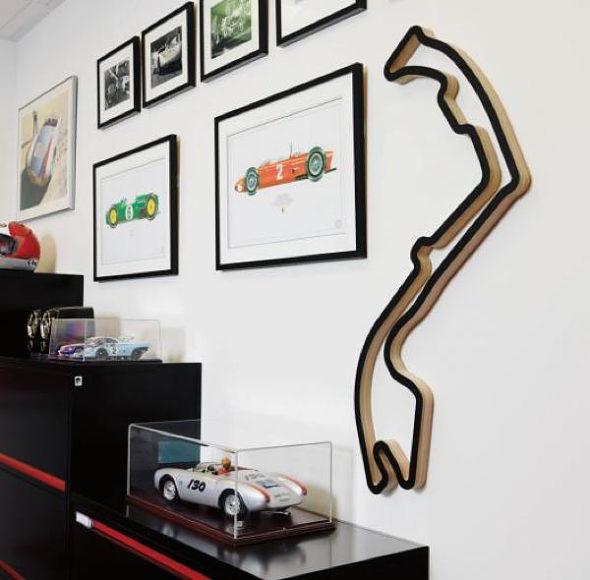 Race Tracks Of The World, πίστες αγώνων F1 μετατρέπονται σε έργα τέχνης.