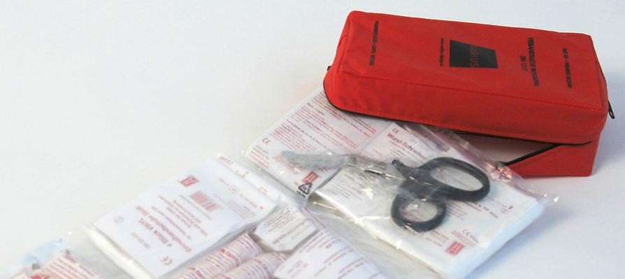 Radius First Aid Box by Ulf Thomas Solbach.
